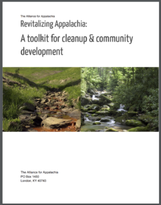 Released Revitalizing Appalachia Toolkit